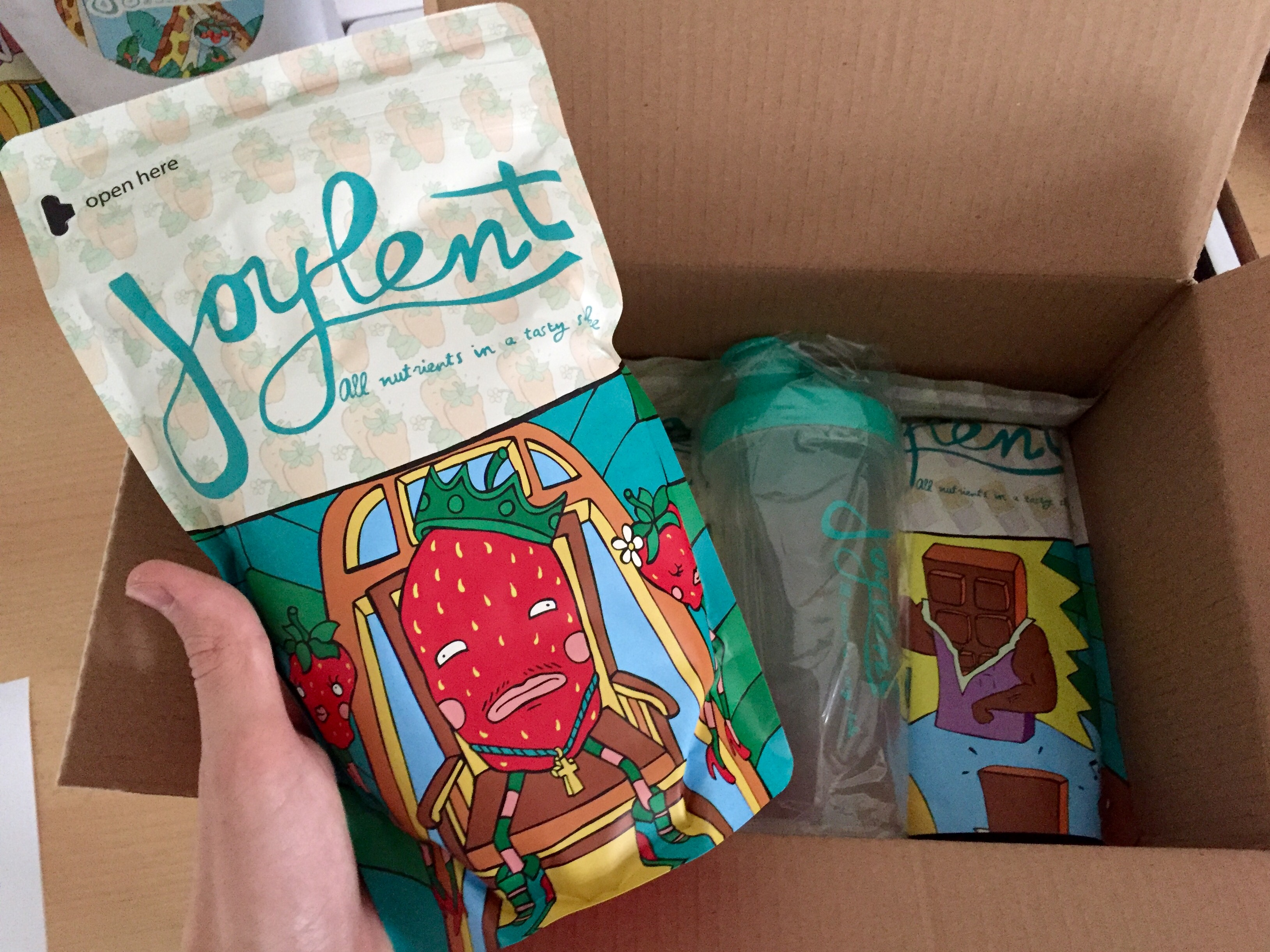 Joylent Paket